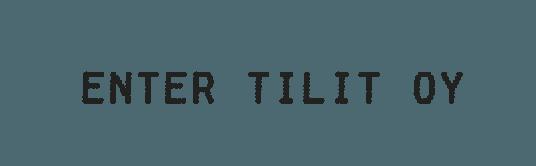 Enter Tilit